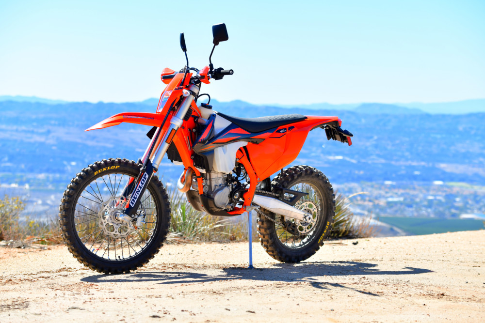 At $11,199, the KTM is the most expensive dual sport bike out there, but that doesn't seem to keep people away. These bikes are still flying off the shelves. What does that tell you about the KTM?