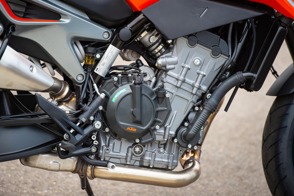 The LC8c engine weighs only 110 pounds without the throttle bodies, and 116 with them.