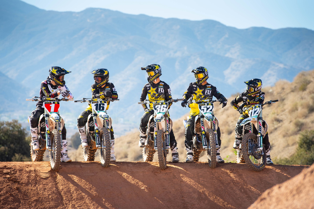 Rockstar Energy Husqvarna Factory Racing Introduces 2019 AMA Supercross Lineup