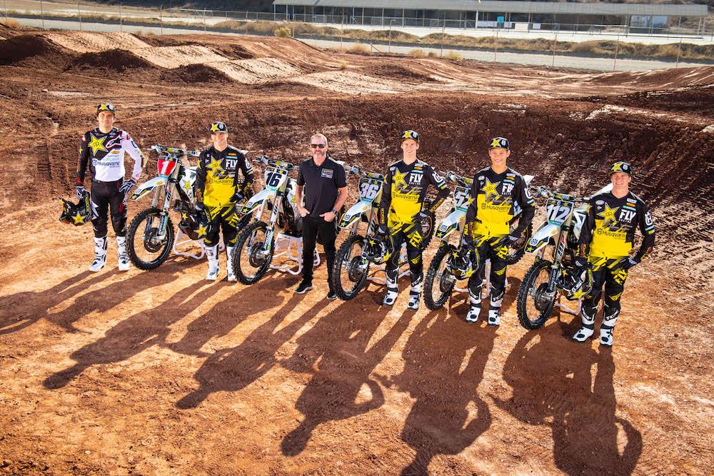 Husqvarna announces 2019 Rockstar Energy Supercross and Motocross Team.