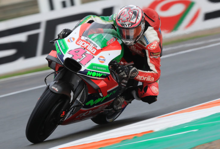 Aleix Espargaro, Valencia MotoGP 2018
