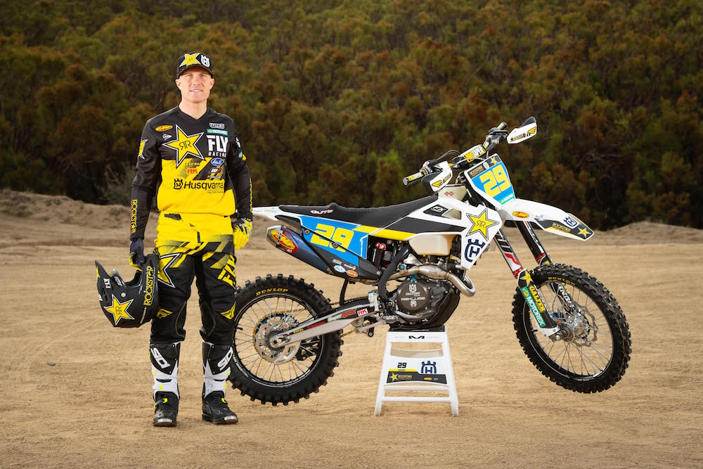 260eb615 Andrew Short Joins Rockstar Energy Husqvarna Off-Road Team