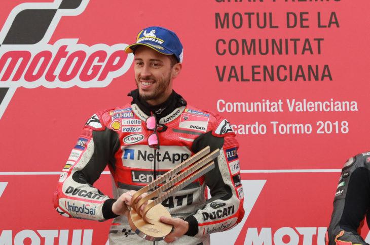 Dovizioso, Valencia MotoGP 2018