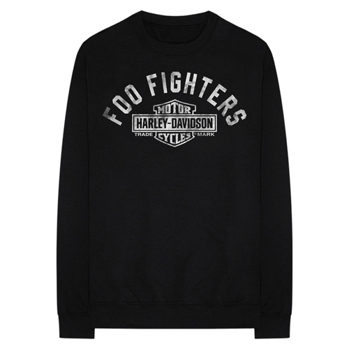 Harley-Davidson Teams with Foo Fighters for Limited-Edition Merchandise