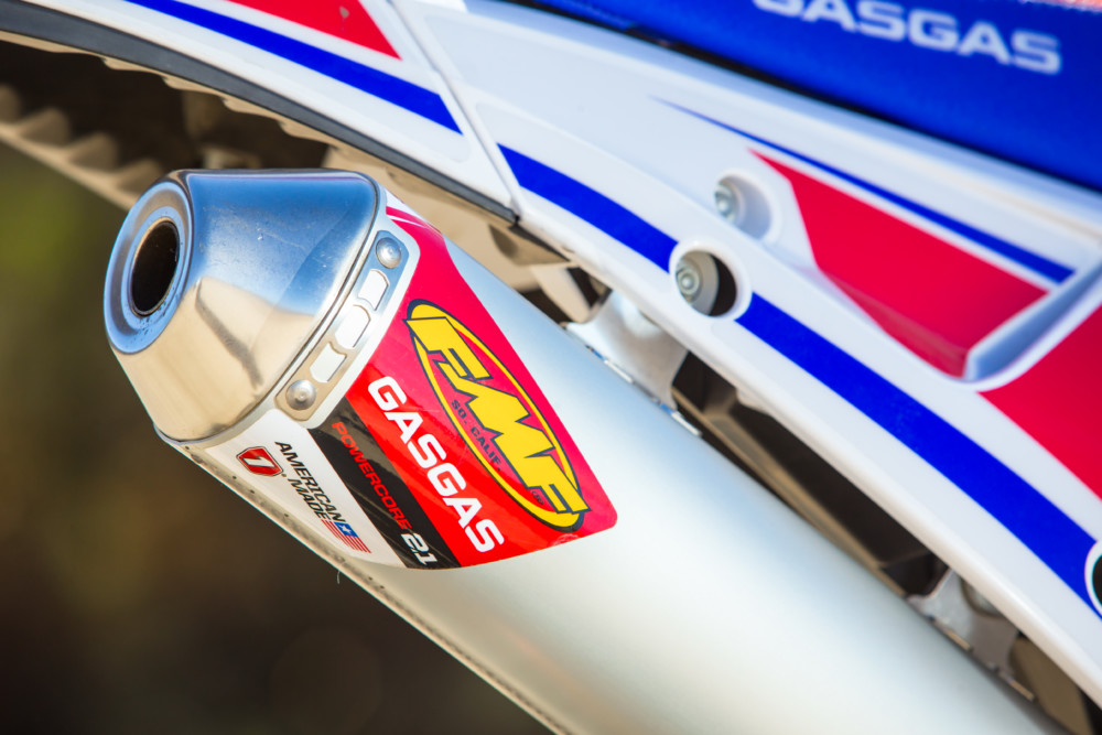 2019 GasGas EC300 Six Days Edition FMF Muffler