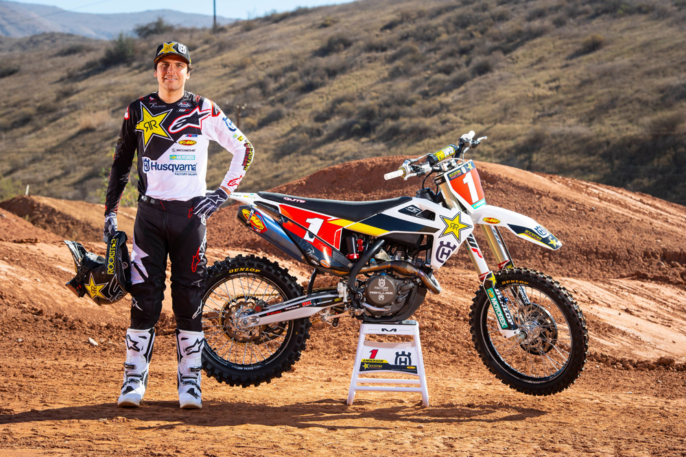 Jason  Anderson - Husqvarna Factory Racing 2019 AMA Supercross