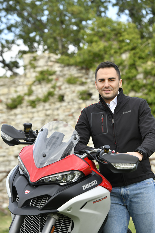 Multistrada Enduro Project Manager Davide Previtera made sure development of this model started as soon as the old one hit dealer floors.