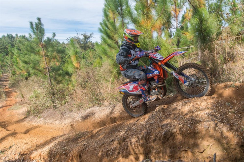 KTM Riders Sweep the Podium at 2018 AMA National Enduro Series in Stanton, Alabama