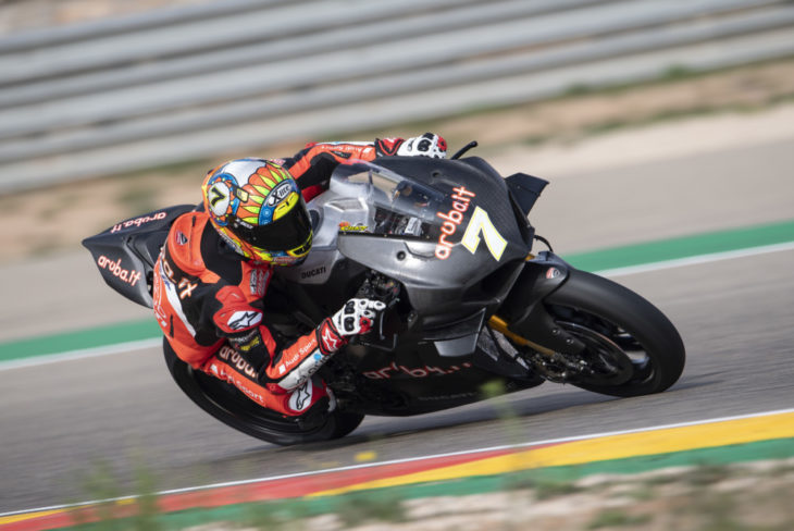 Wet Day On Track Gives Chaz Davies Even More Confidence