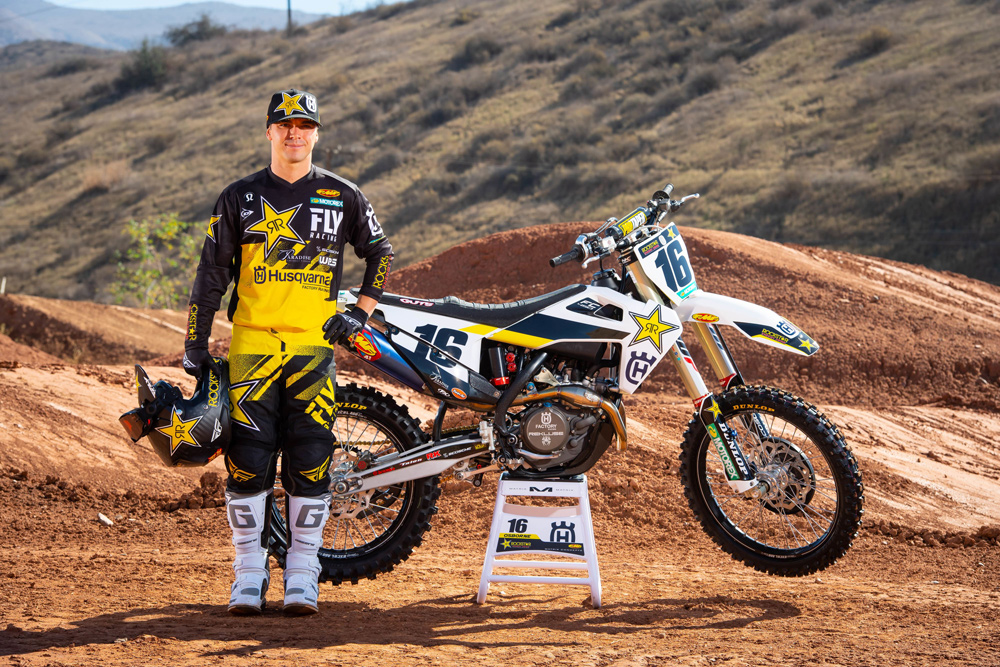 Zach Osborne - Husqvarna Factory Racing 2019 AMA Supercross