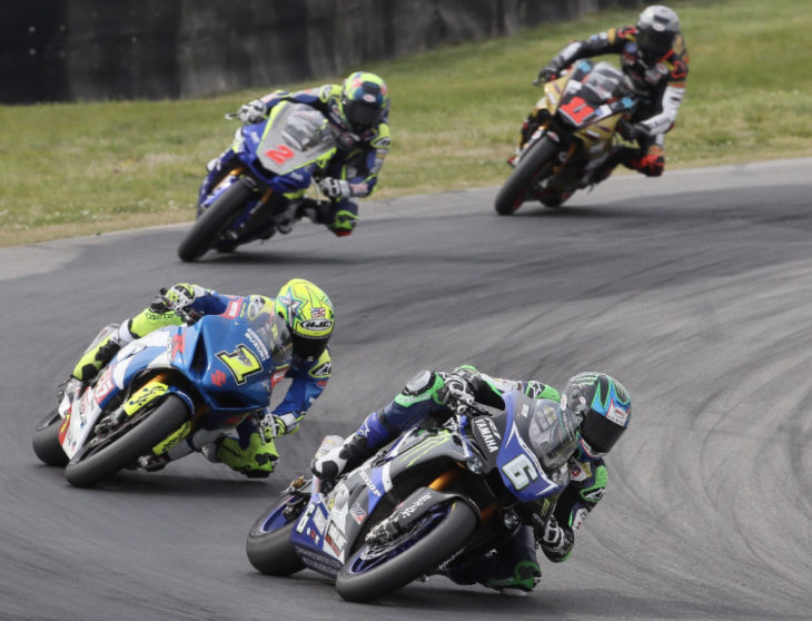 The 2019 MotoAmerica Series will feature 10 rounds in nine different states as it criss-crosses the country from California to New Jersey. Photo by Brian J. Nelson