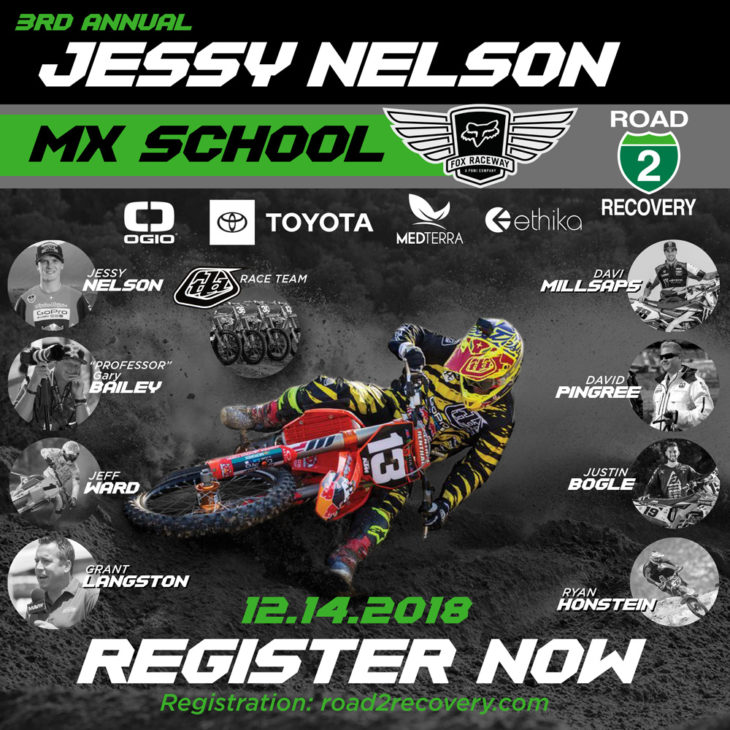 2018 Jessy Nelson MX School