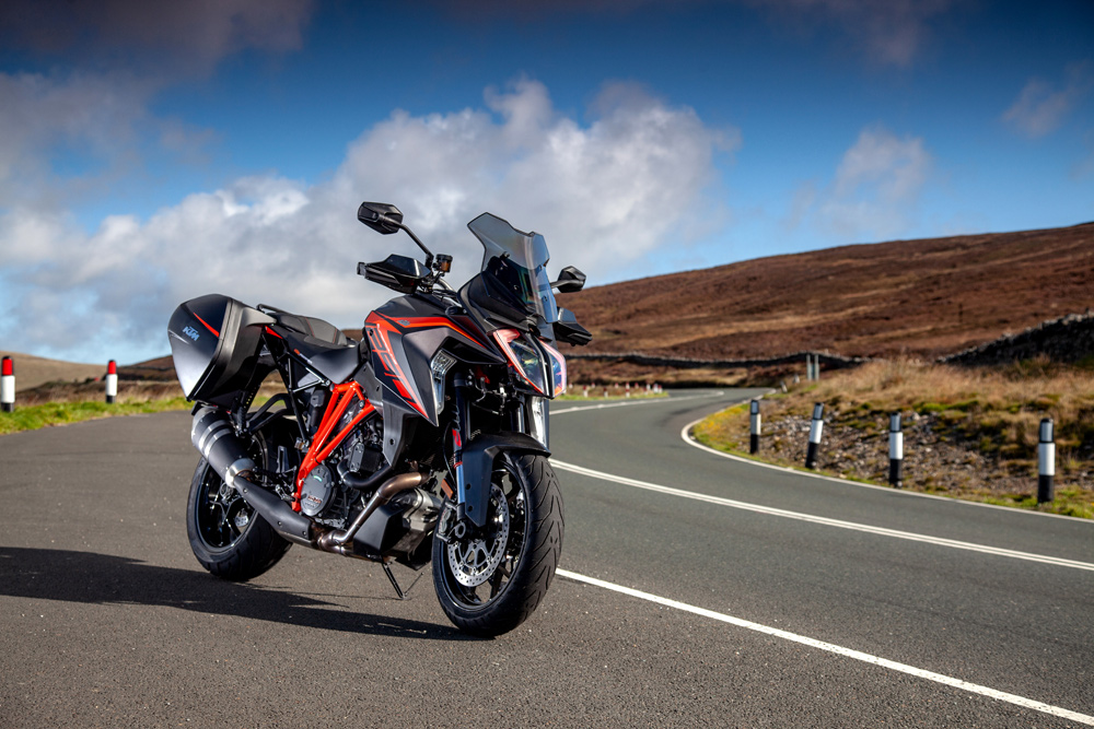 The 2019 Super Duke GT—at the Isle of Man, no less—is a nice example of refining an already excellent product.