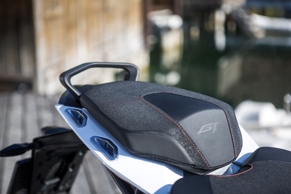 A new subframe and seat offers greater comfort for passengers over long rides.