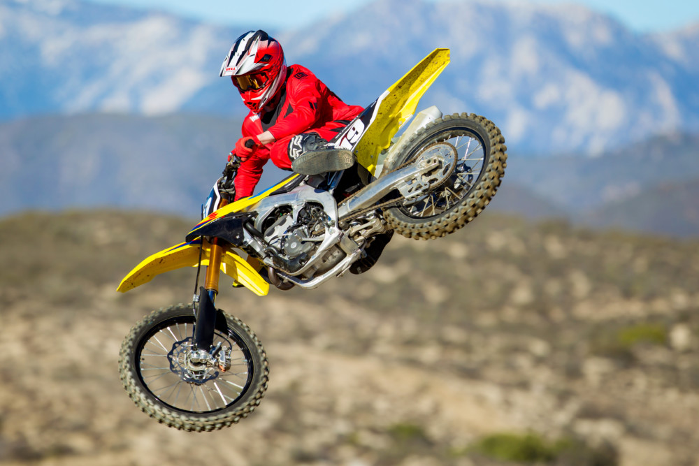 Get ready to throw the RM-Z250 all around. It loves it.