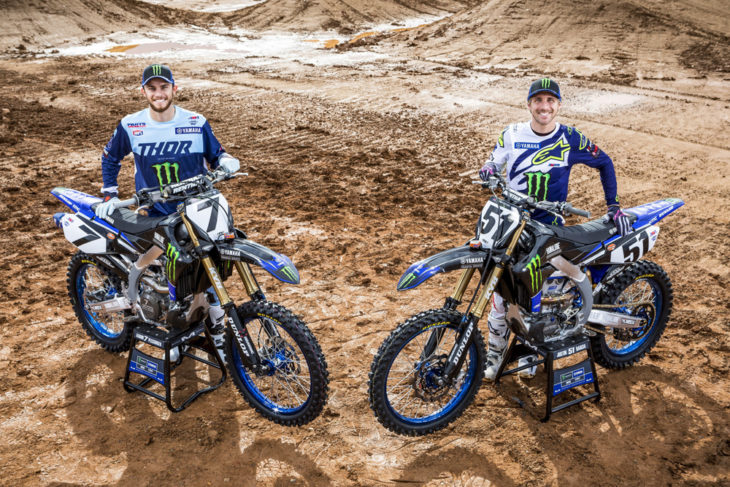 Yamaha Factory Racing Squad #51 Justin Barcia and #7 Aaron Plessinger