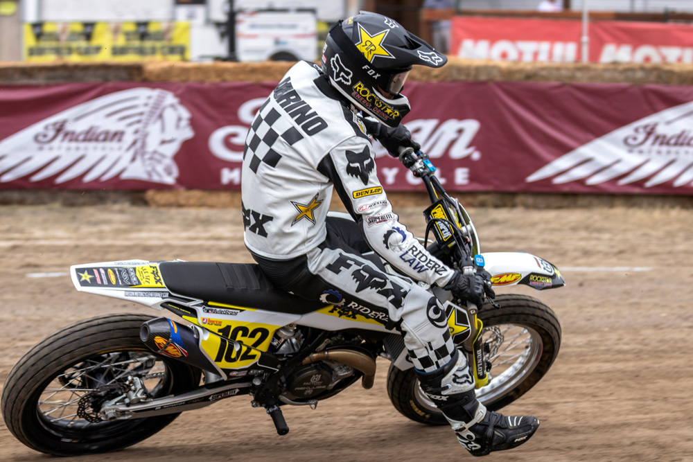 The Buffalo Chip TT at Sturgis netted DiBrino a 12th place.