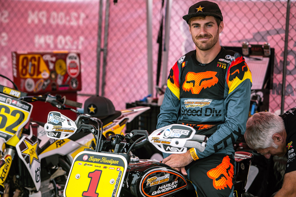 The National Super Hooligan Championship has given DiBrino a place to earn some real money racing, which is ironic when you consider the beginnings of the series.