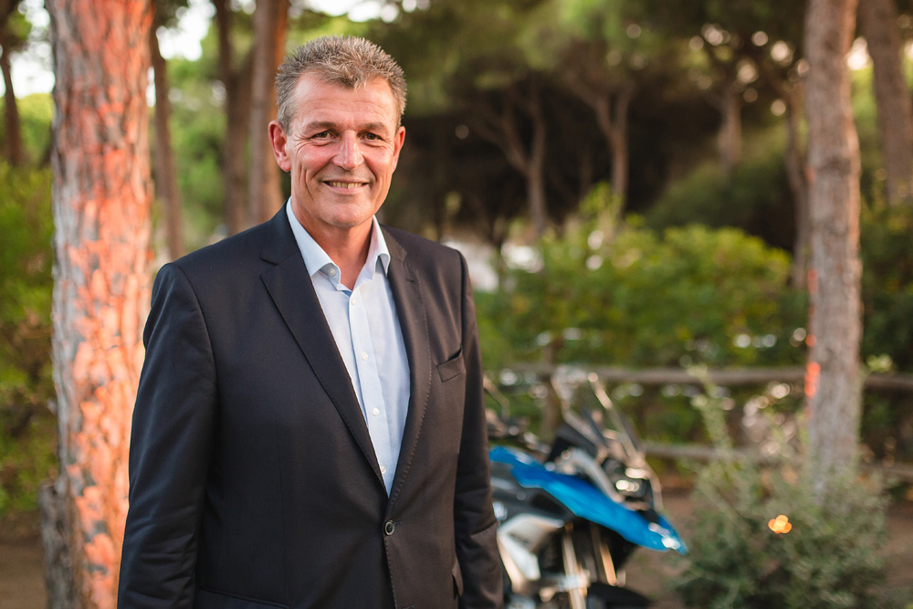 Markus Schramm has been with BMW for nearly 30 years, but this is the first time he's solely headed up the two-wheeled arm of the company. He has some big plans for BMW.