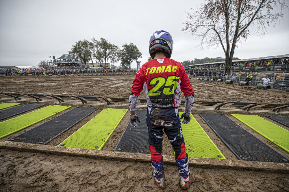 The Motocross of Nations was one of the low points of his roller-coaster year.