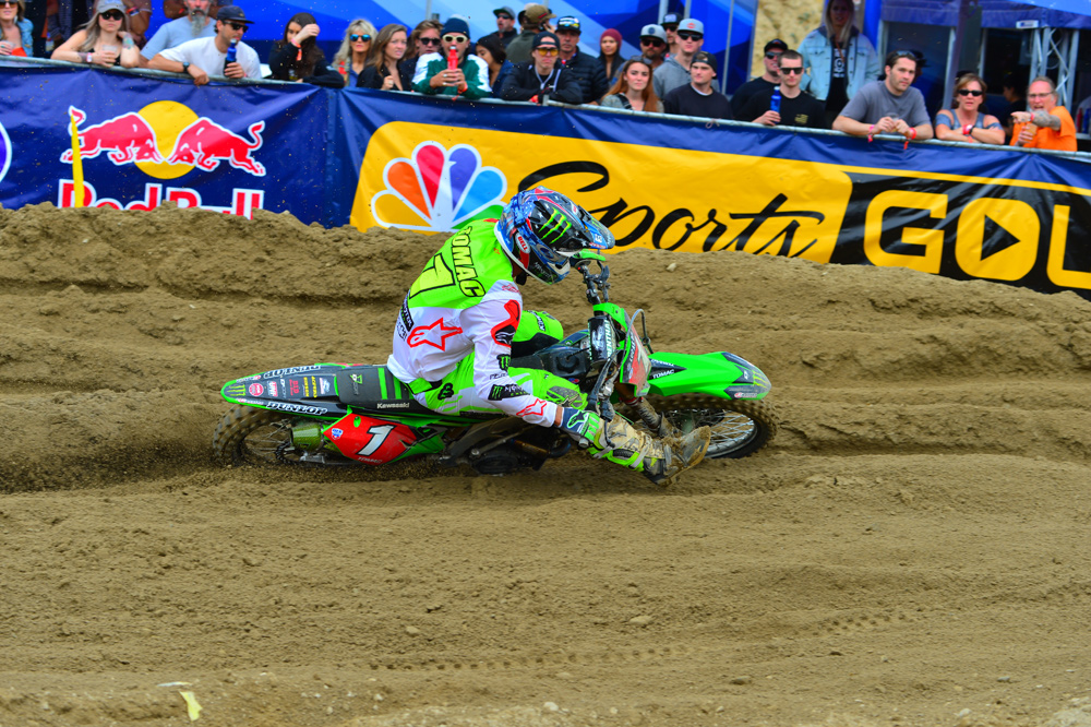 When Tomac was on, everyone else was racing for second place that day.