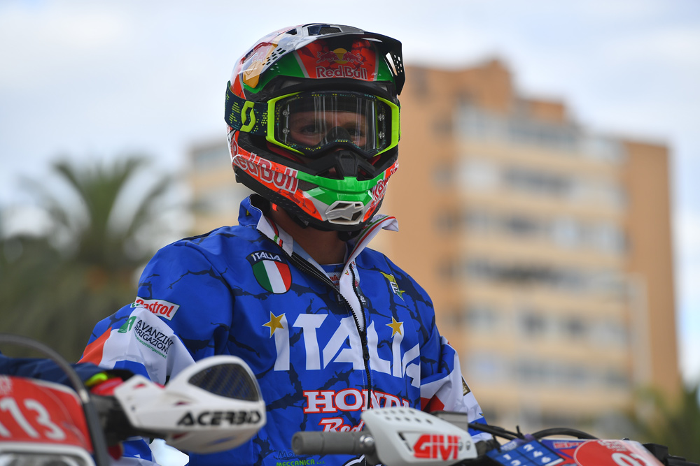 Redondi made his family, friends and fans proud with his accomplishments in the U.S., as well as in the ISDE.