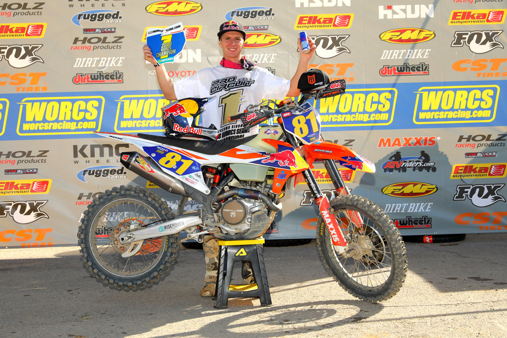Despite his unfamiliarity with long-distance American-style off-road racing, Redondi overcame the odds and earned the WORCS title as a true privateer.