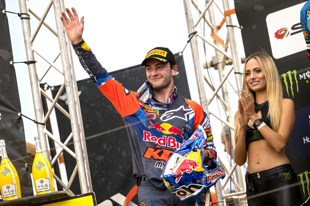 Jeffrey Herlings' unforgettable MXGP year. So unforgettable, in fact, that the amazing young motocrosser from the land of sand is our 2018 Cycle News Rider of the Year
