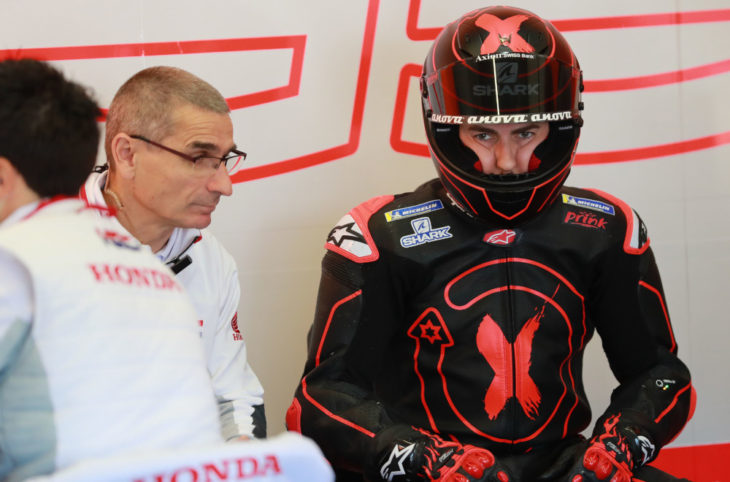 Jorge Lorenzo almost retired before Honda deal was announced