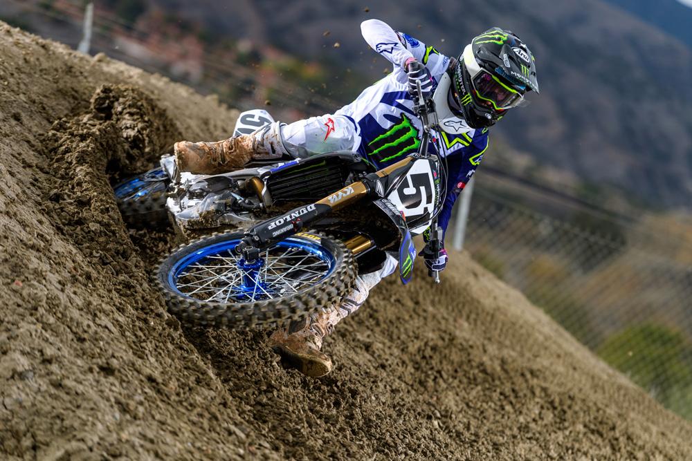 Yamaha Factory Racing #51 Justin Barcia