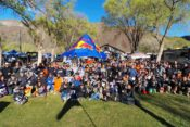 The pre-ride group shot at the 2018 Nevada 200