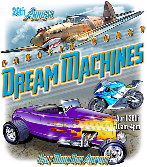 Pacific Coast Dream Machines Show