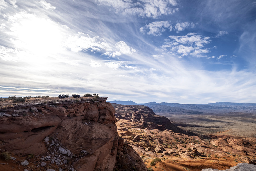 This is the kind of vista on offered in Sand Hollow State Park. Breathtaking doesn't come close.