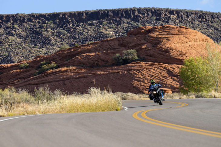 Cruising through Snow Canyon State Park fells like you're a living part in a water painting.
