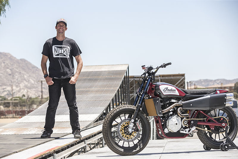 American Motorcyclist Association 2018 Motorcyclist of the Year Travis Pastrana. Photo by Nitro Circus