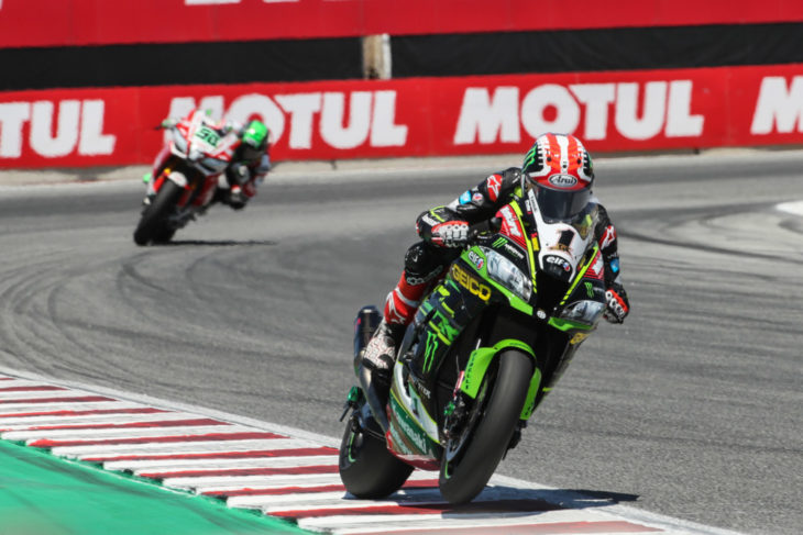 WorldSBK To Return to Laguna Seca in 2019 Rea leads Laverty