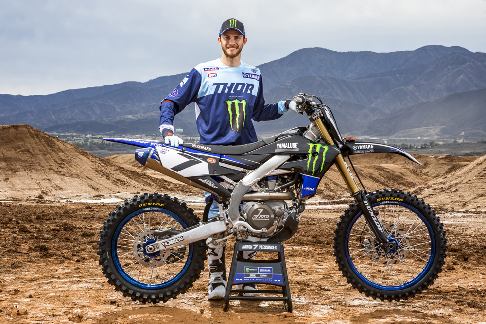 Yamaha Factory Racing #7 Aaron Plessinger