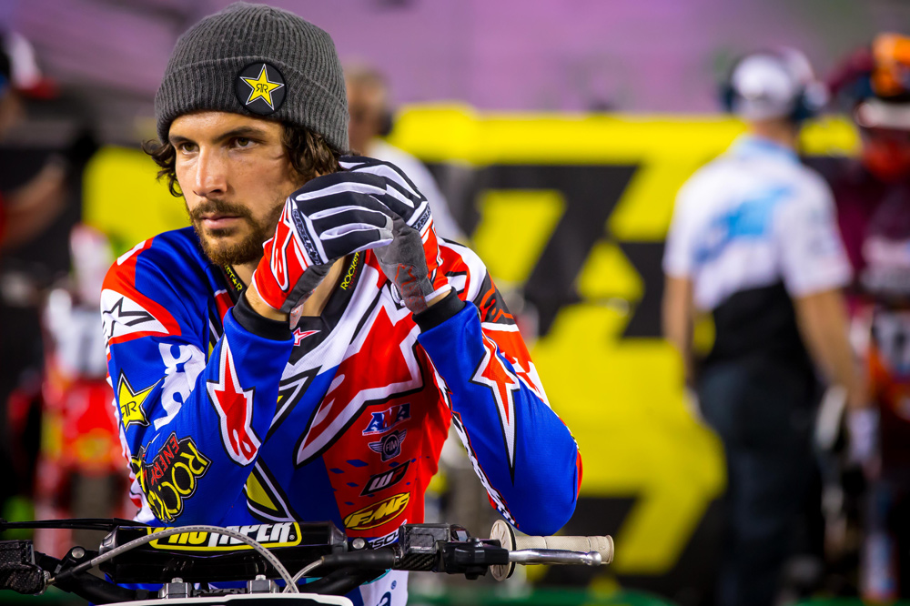 Jason Anderson might've flown under the radar going into the 2018 supercross series, but he was flying high when it was all over.