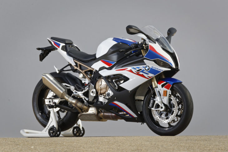 The Top 10 Street Bikes We Can't Wait to Ride in 2019 BMW S 1000 RR right side pits