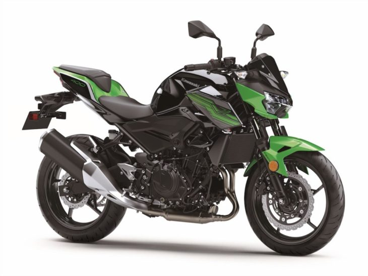 The Top 10 Street Bikes We Can't Wait to Ride in 2019 Kawasaki Z 400 right side