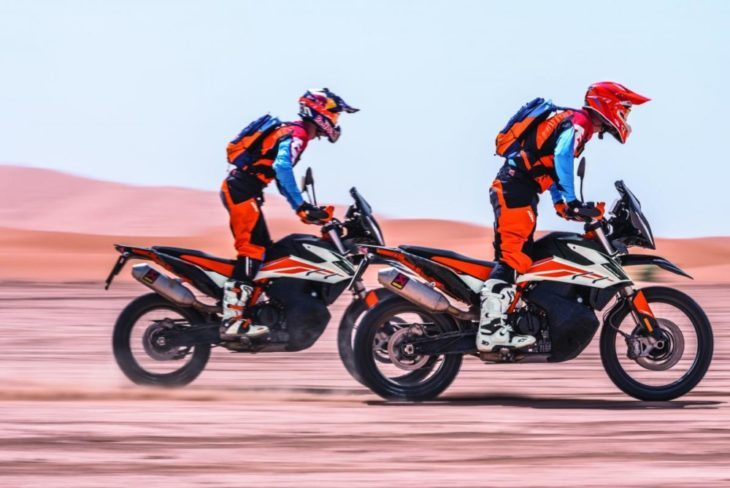 The Top 10 Street Bikes We Can't Wait to Ride in 2019 KTM 790 Adventure side ride