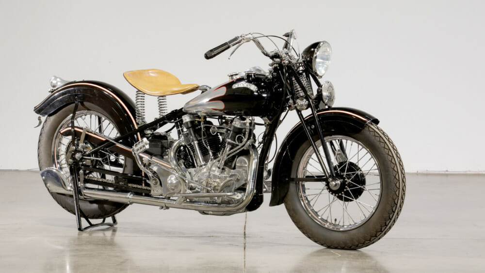 1939 Crocker Big Tank | 1000cc V-Twin Engine, Restored by Michael Weigert