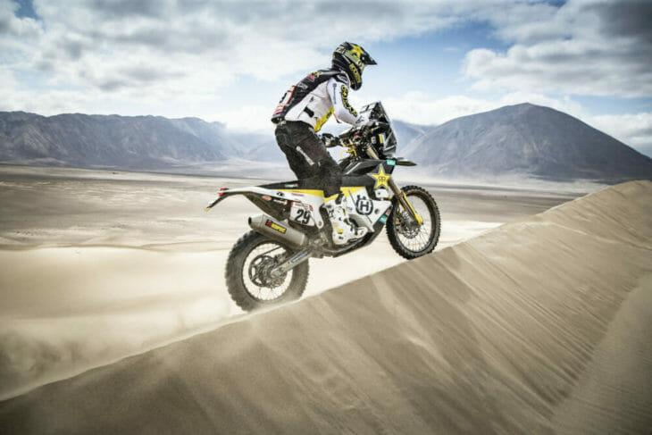 2019 Dakar Rally Andrew Short Rockstar Energy Husqvarna