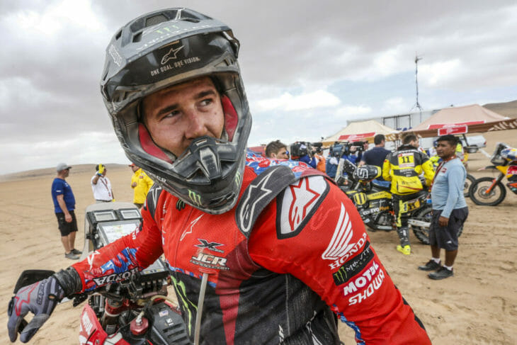 Ricky Brabec 2019 Dakar Rally Monster Energy Honda
