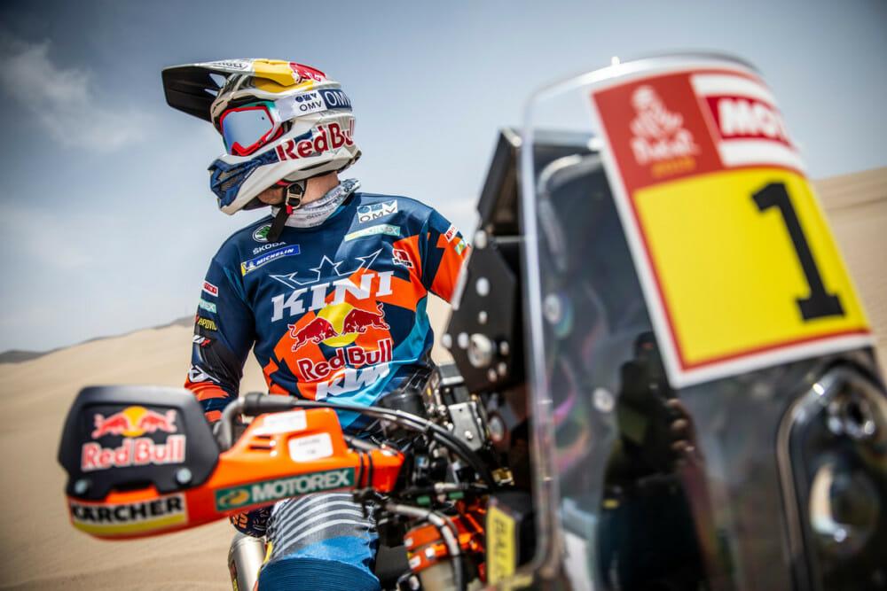 Reigning Dakar Rally championMatthias Walkner