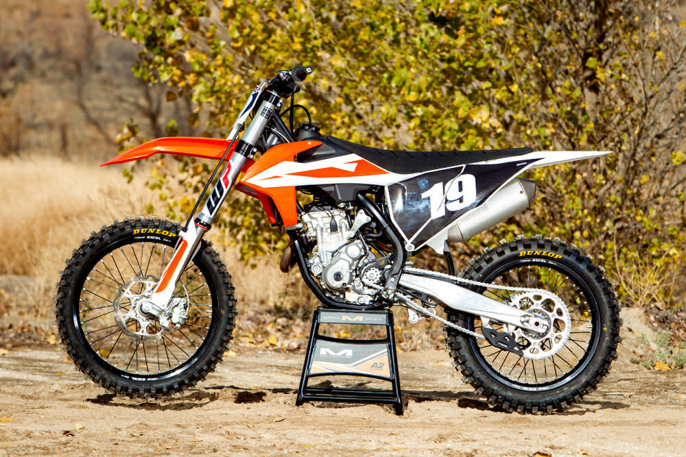 2019 KTM 250-SX-F MX Bike