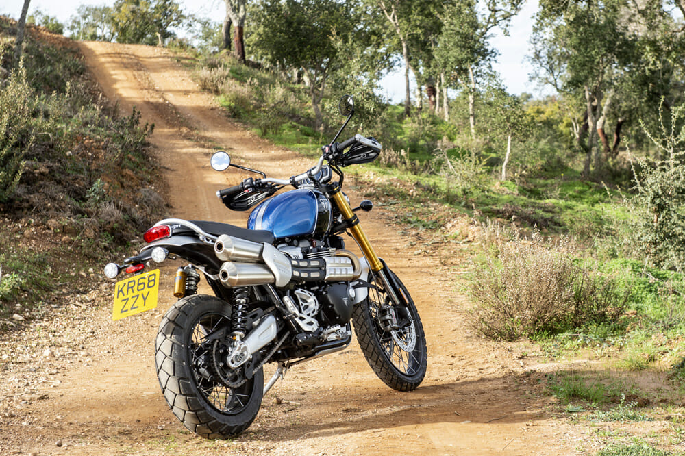 Triumph is looking to reclaim its place as the king of modern scrambling with two all new models in the Scrambler 1200 XC and XE.