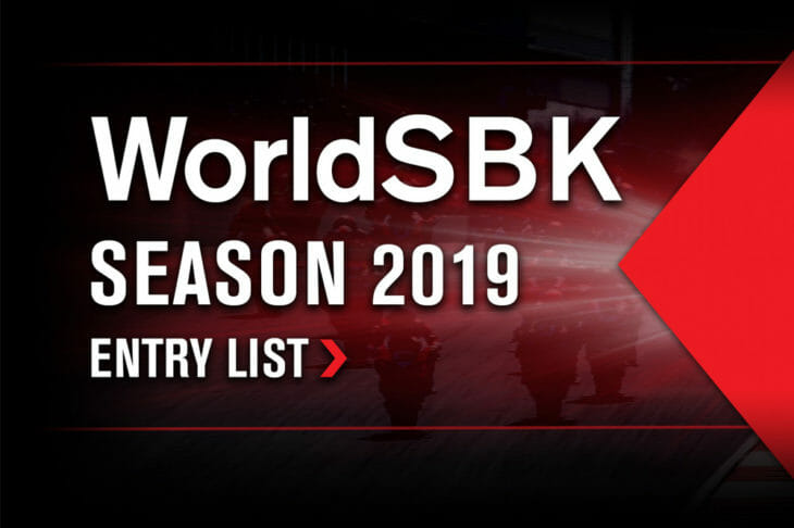 Provisional WorldSBK line up for the new season announced.