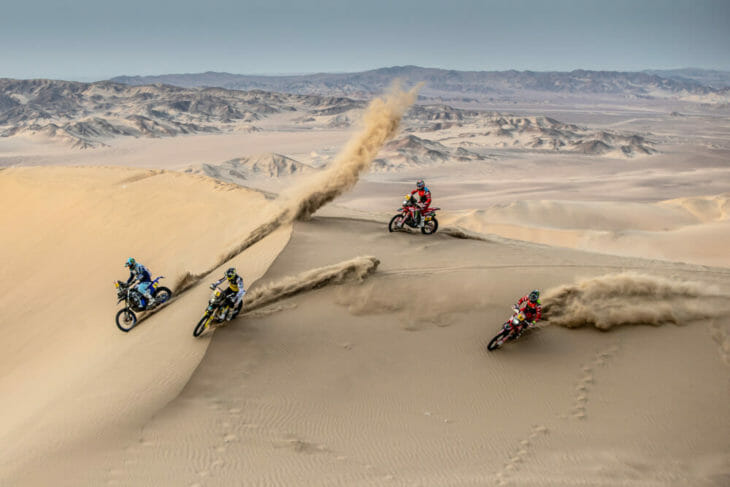 2019 Dakar Rally Stage 9 Monster Energy Honda