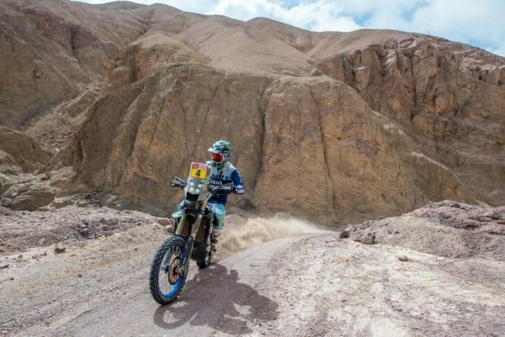 2019 Dakar Rally Adrien Van Beveren Yamalube Yamaha